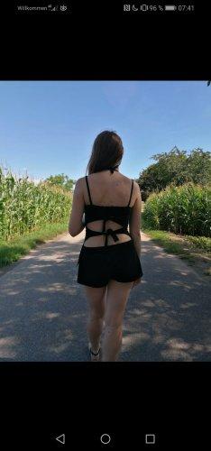 Blusa sin espalda negro