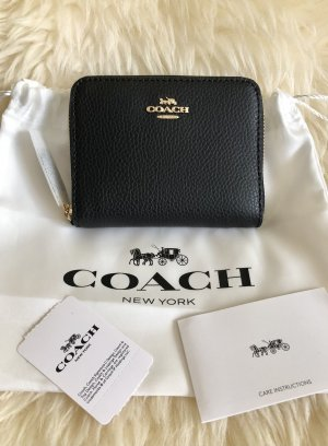 Coach Wallet black-gold-colored