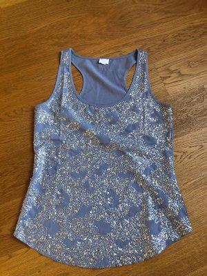 Alba Moda Top na ramiączkach szary niebieski-stalowy niebieski