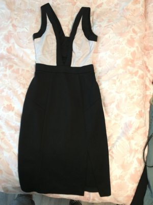 Schönes Party Kleid in schwarz weiß