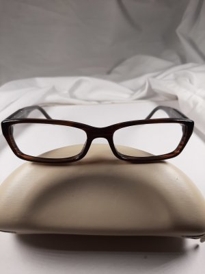 Prada Gafas marrón oscuro