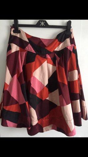 H&M Jupe plissée multicolore