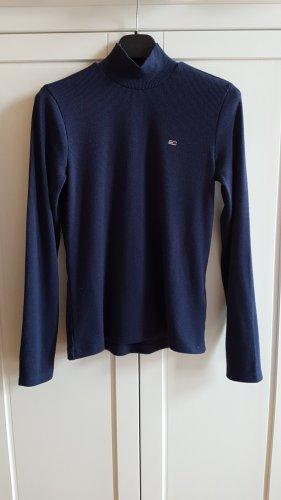 Tommy Hilfiger Turtleneck Shirt blue polyester