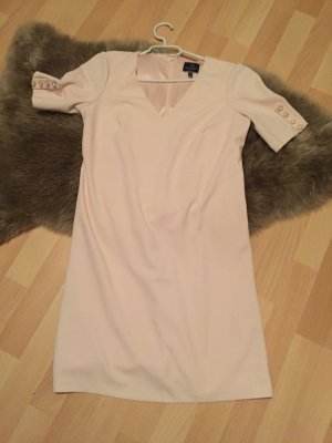 Adrianna Papell Vestido de manga corta rosa