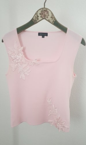 Knitted Top light pink viscose