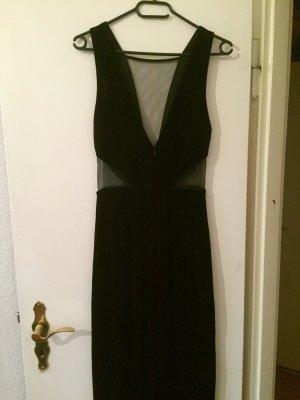 Schönes samtes langes Kleid XS-S