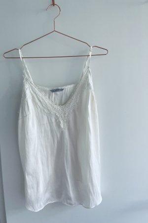 H&M Top met franjes wit
