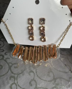 H&M Jewellery Set gold-colored-apricot