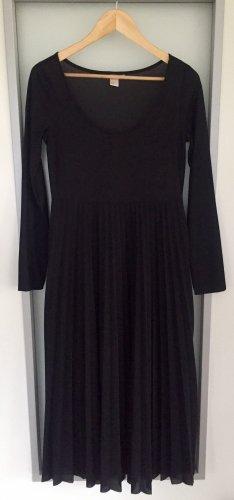 Schönes schwarzes langes Kleid   H & M   Gr. 38