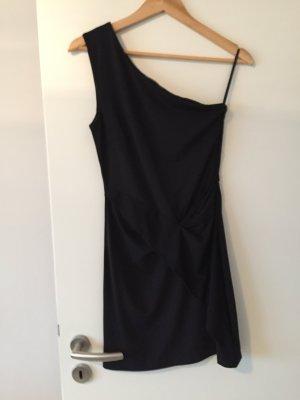 Set One Shoulder Dress black