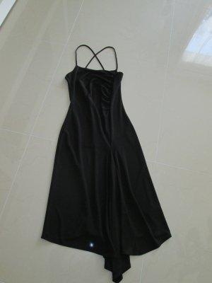 schönes schwarzes Sommerkleid