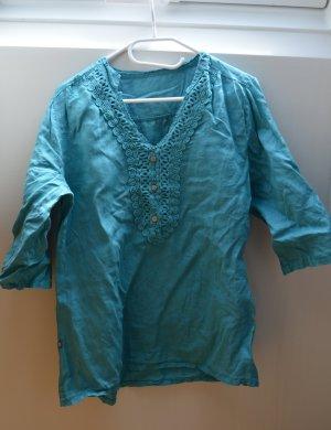 Schönes Shirt in sommerlichem türkis