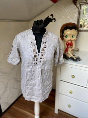 Schönes Shirt mit V-Ausschnitt Hippie von Mexx Gr 36