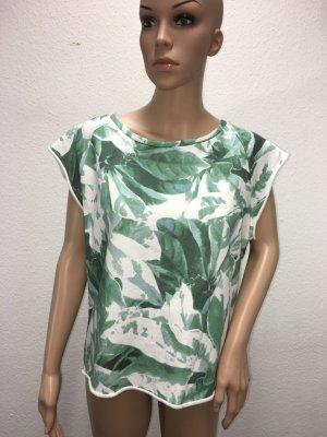 Yaya Boatneck Shirt multicolored cotton