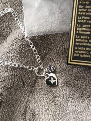 Schönes Silber-Armband * 925-er Silber * mit kleinem Diamant * Neu mit Originalkarton