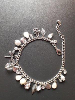 Accessoires Bracciale charm bianco-argento