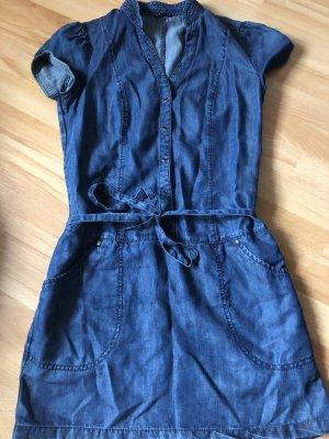 Sisley Vestido vaquero azul
