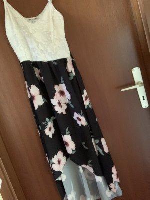 STYLEBOOM Sukienka plażowa biały-czarny