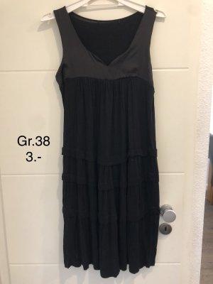 Schönes Sommer Kleid schwarz Schlicht Gr.38 nur 3.-