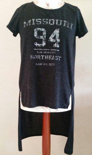 Schönes Sommer Long Shirt von Janina Gr. 40