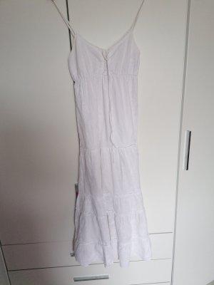 Cache & Cache Robe trapèze blanc
