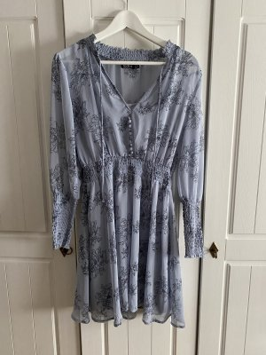 Boohoo Longsleeve Dress cornflower blue