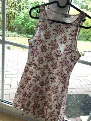 Schönes Sommerkleid mit Trägern | Blumenmuster | Größe M/38