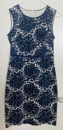 Boden Pencil Dress blue-white