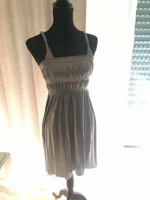 Mango Bustier Dress taupe