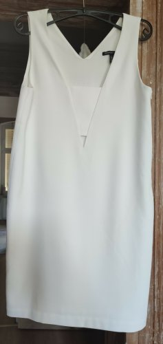 Mango Sukienka midi kremowy