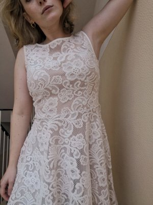 Ambiance Lace Dress multicolored polyester