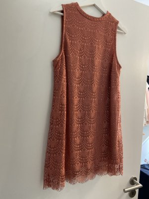 Gina Tricot Vestido estilo camisa albaricoque-salmón