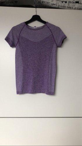 Workout T-shirt de sport violet-lilas