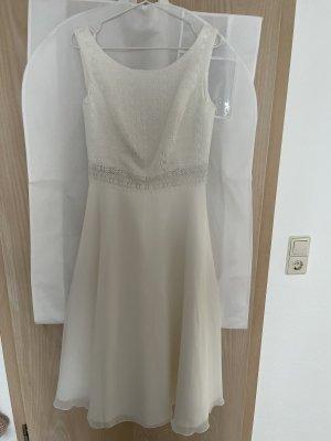 Bianco Evento Suknia ślubna biały-w kolorze białej wełny