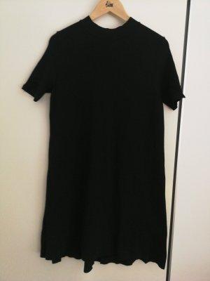 Zara Knit Robe en laine noir
