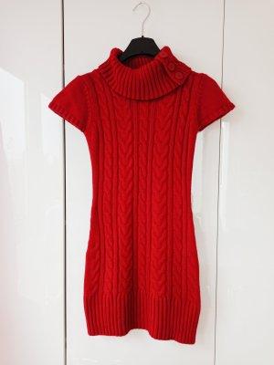 Schönes Strickkleid in rot 38