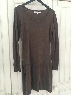 Liebestraum Knitted Dress grey brown mixture fibre