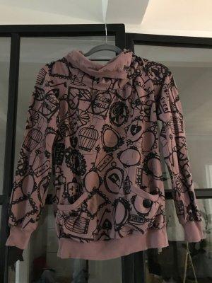 Killah Sweatshirt noir-gris lilas
