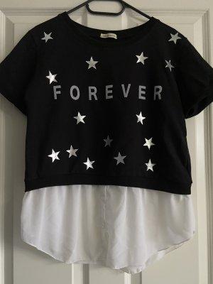 Schönes T-Shirt inkl  innen Bluse