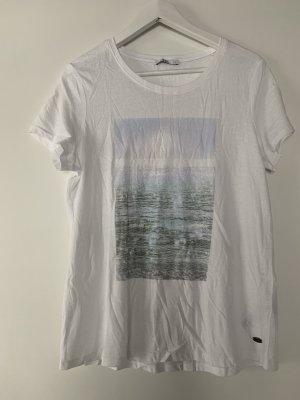 Schönes T Shirt mit Aufdruck von edc Gr. L