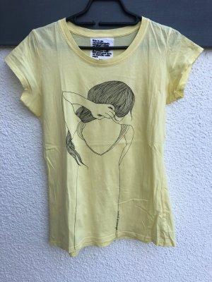 Schönes T-Shirt mit coolem Print von armedangels - Gr. L