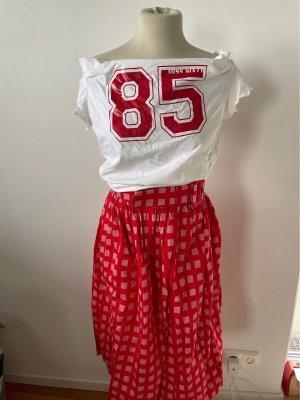 Miss Sixty Carmen shirt wolwit-donkerrood