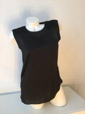 Armani Jeans Blouse topje zwart