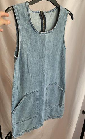 Schönes true vintage 90er 100% Baumwolle Jeanskleid
