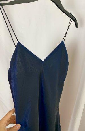 Schönes true vintage Designer 90er Designer Satin Slip-Dress