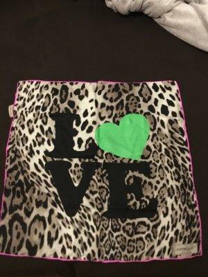 schönes Tuch Codello Leoparden Muster Love Herz