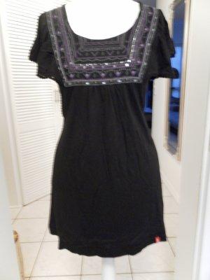 Edc Esprit Shirt Tunic black mixture fibre