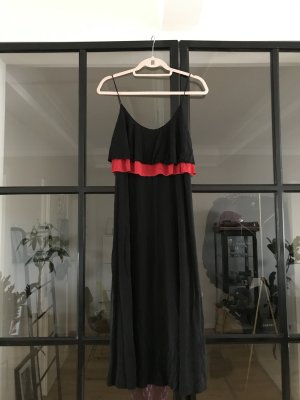 & other stories A Line Dress black-red