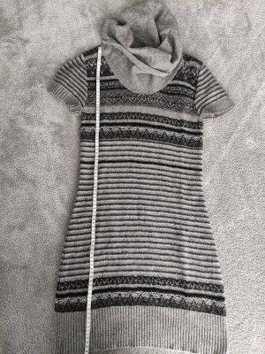 Yessica Woolen Dress black-light grey