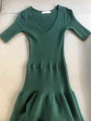 Lilly Vestito di lana verde bosco